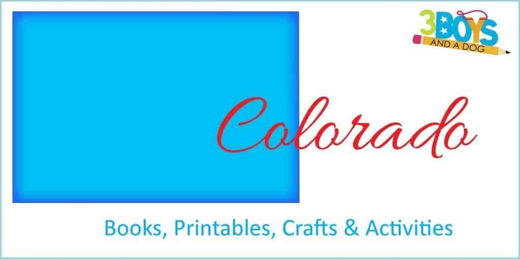 Colorado Books Printables Crafts and Activities for Kids