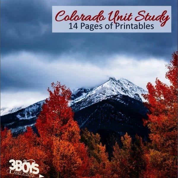 Colorado State Unit Study.sq