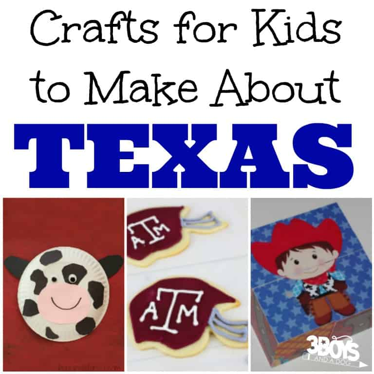 Crafts for Kids to Make About Texas