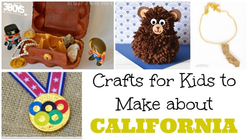 Crafts for Kids to Make about California