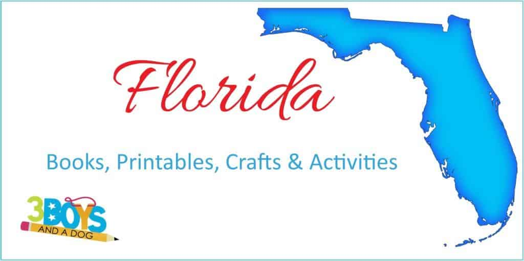 Florida Unit Study books crafts worksheets more