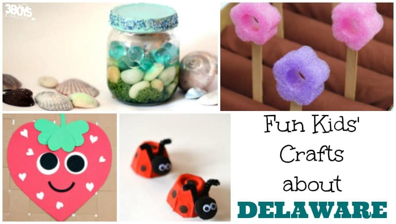 Fun Kids' Crafts about Delaware