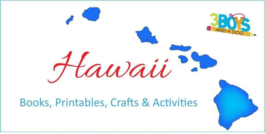Hawaii State Unit Study Books Crafts Worksheets more