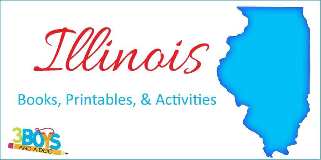 Illinois Books Printables and More