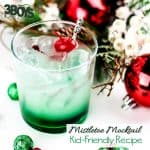 Kid Friendly Green Christmas Cocktail