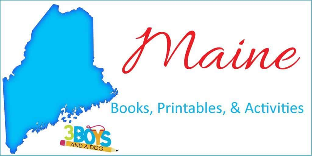 Maine Books Printables Activities for Kids