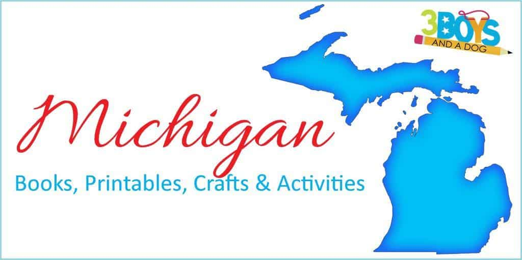 Michigan Books Printables Crafts and More