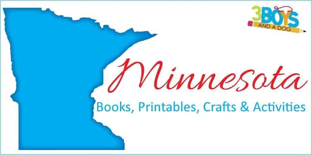 Minnesota Books Printables Crafts and More