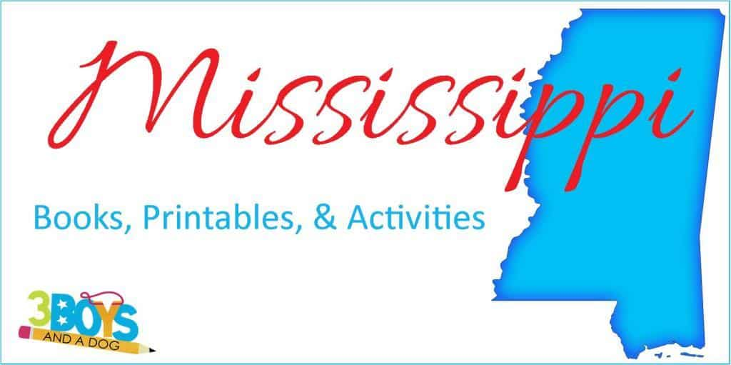 Mississippi Unit Study resources for kids