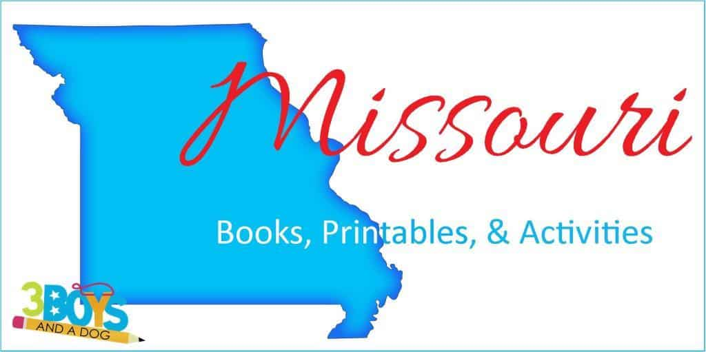 Missouri Books Printables and Activities for Kids