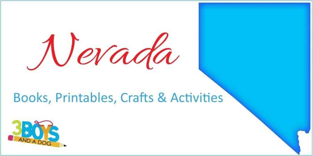 Nevada Crafts Books Worksheets and More