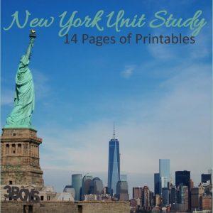 New York State Unit Study.sq