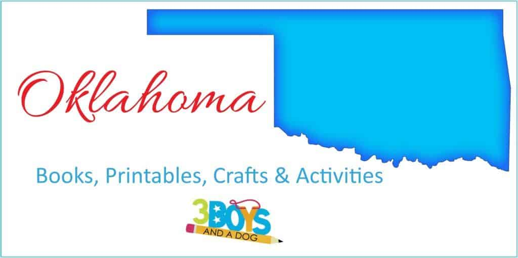 Oklahoma State Unit Stufd with books crafts worksheets and more