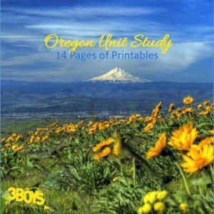 Oregon State Unit Study.sq
