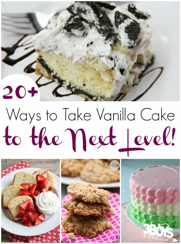 Over 20 Ways to Make a Vanilla Cake More Interesting