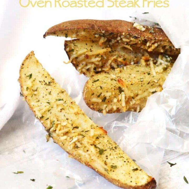 Parmesan Ranch Steak Fries