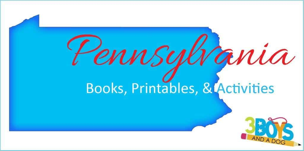 Pennsylvania Books Crafts Worksheets Activities
