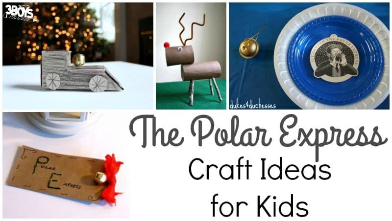 Polar Express Craft Ideas for Kids