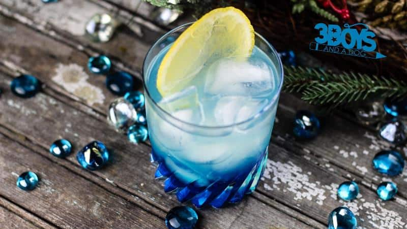 Pretty winter mocktail recipe for kids
