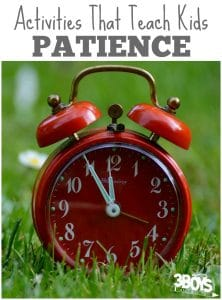 10 Activities Teaching Children Patience