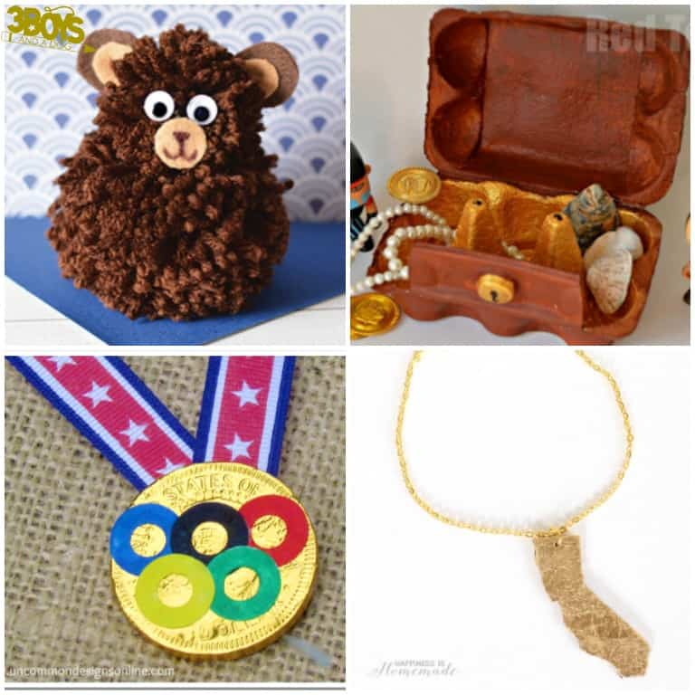 State Crafts for Kids about California