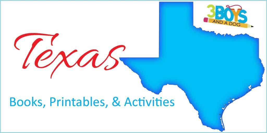 Texas activities crafts books and more