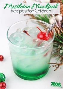 The Mistletoe Mocktail