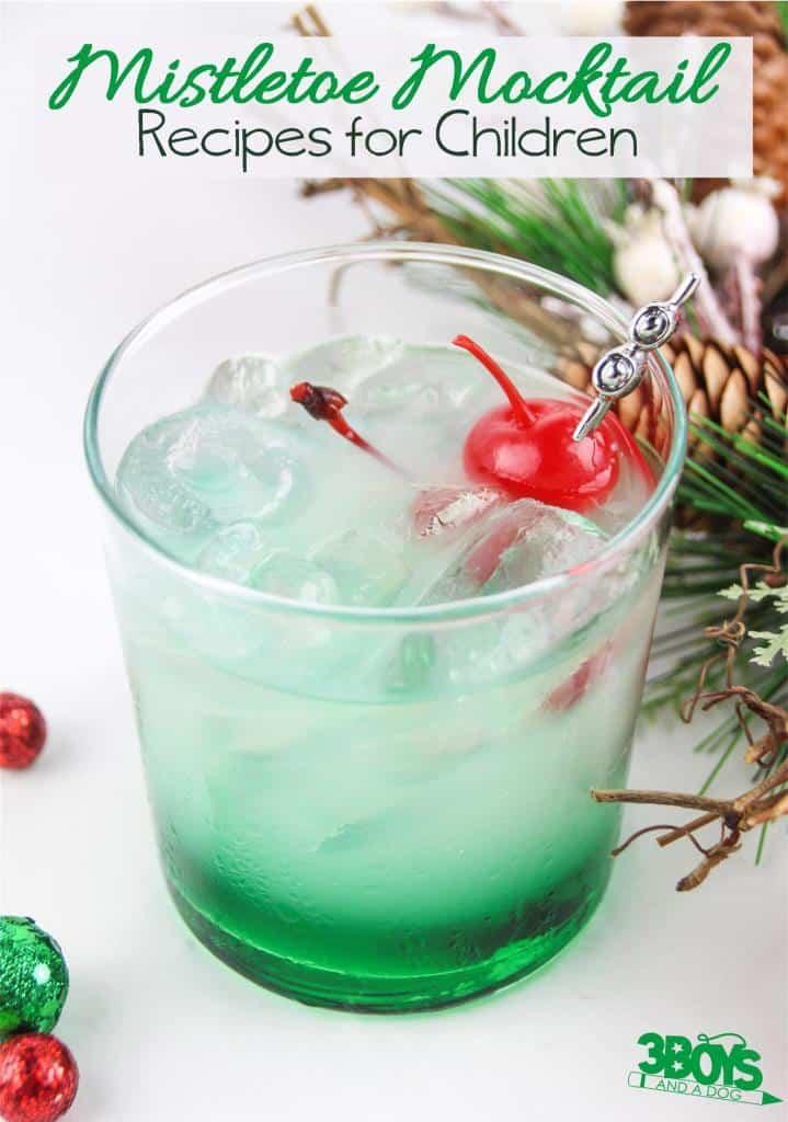 The Mistletoe Mocktail Recipe for Kids