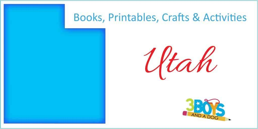 Utah Books Activities Crafts and Worksheets