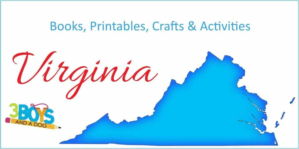 Virginia Printables Books Activities and Crafts