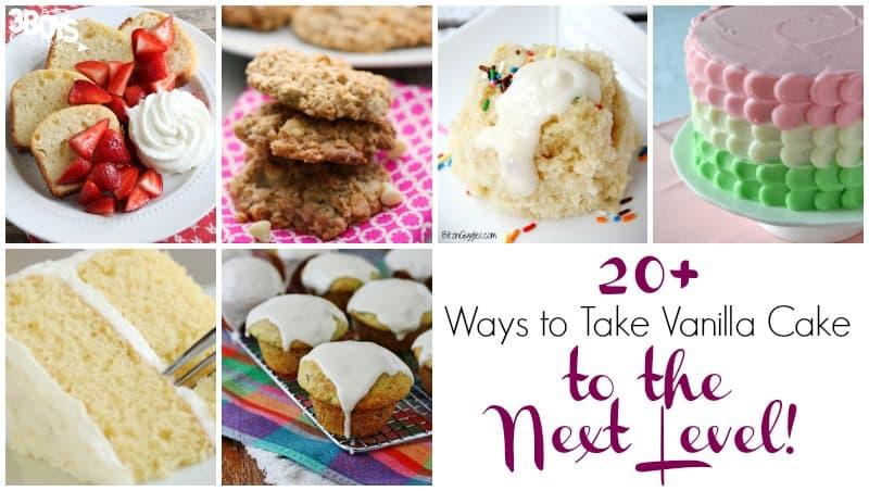 Ways to Make Vanilla Cake Interesting