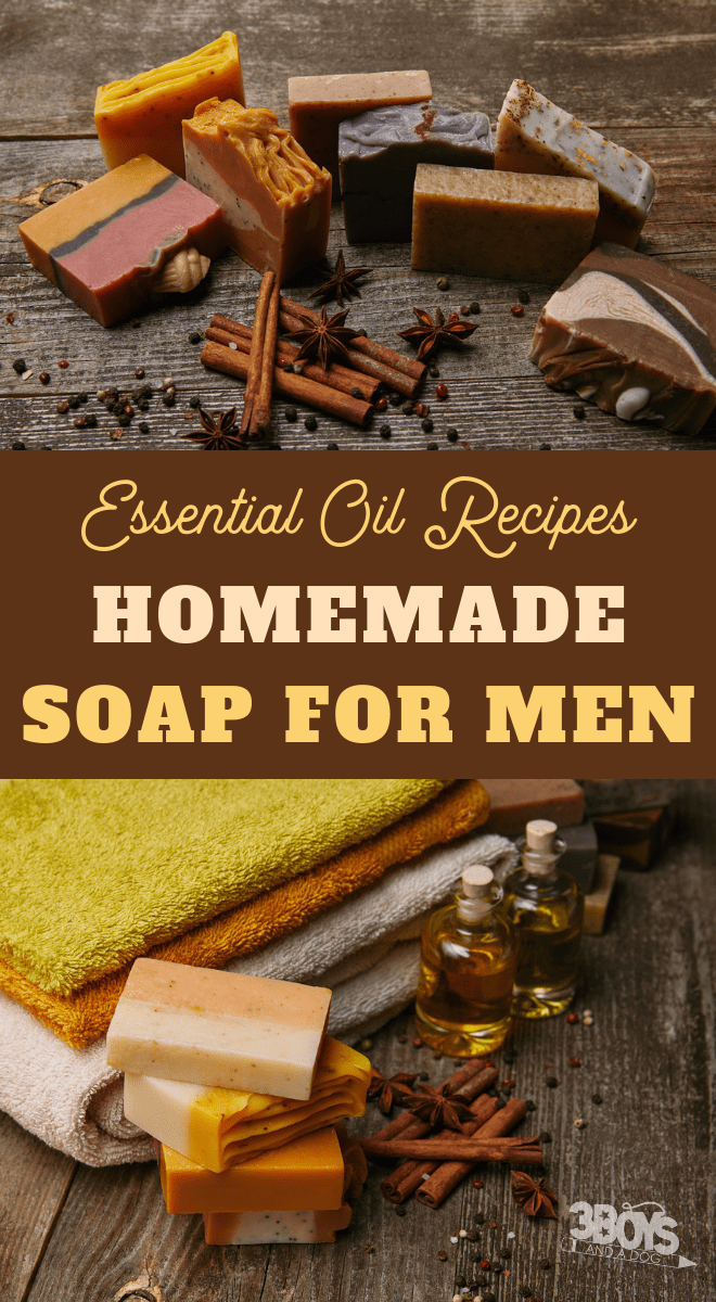 homemade essential oil recipes soap for men