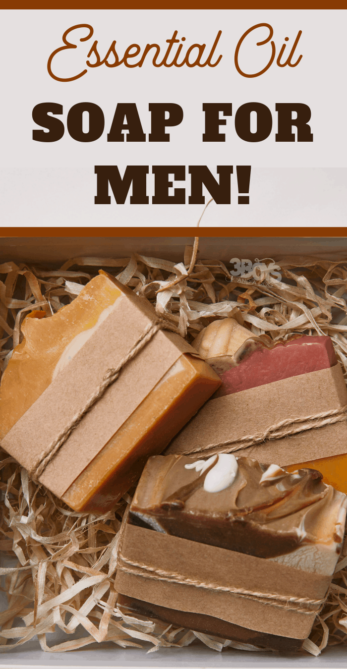 This essential oil soap recipe for men provides a woodsy, spicy scent that men will love. This recipe makes the perfect DIY gift for the men in your life!