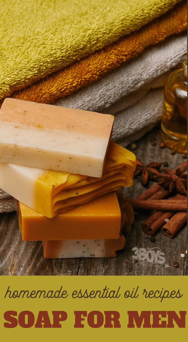 essential oil soap for men