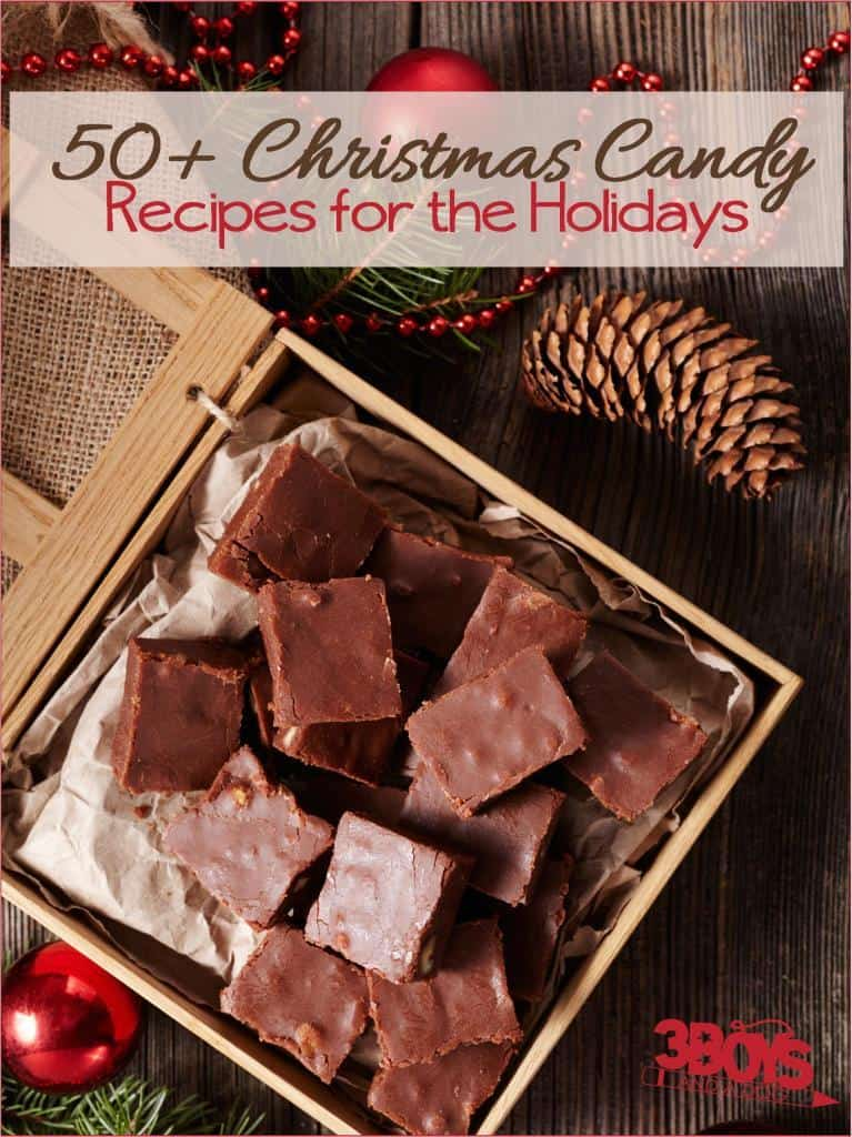 traditional homemade confections for Christmas