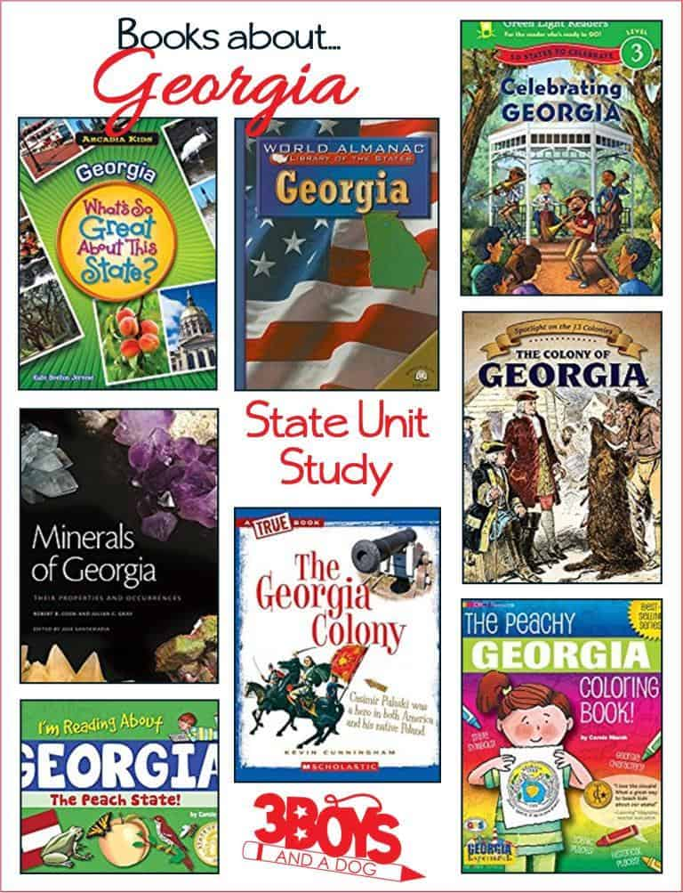 Books about Georgia for Kids