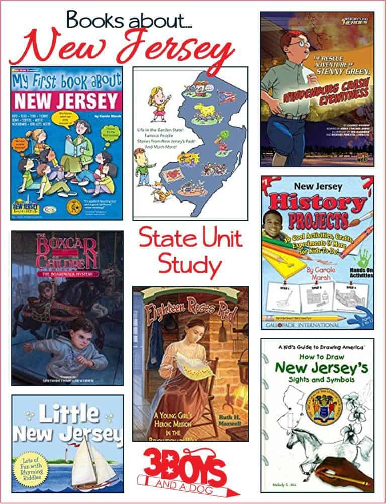 These Books about New Jersey for Kids are sure to please and fascinate your children.