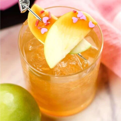 Candied Apple Mocktails for Kids