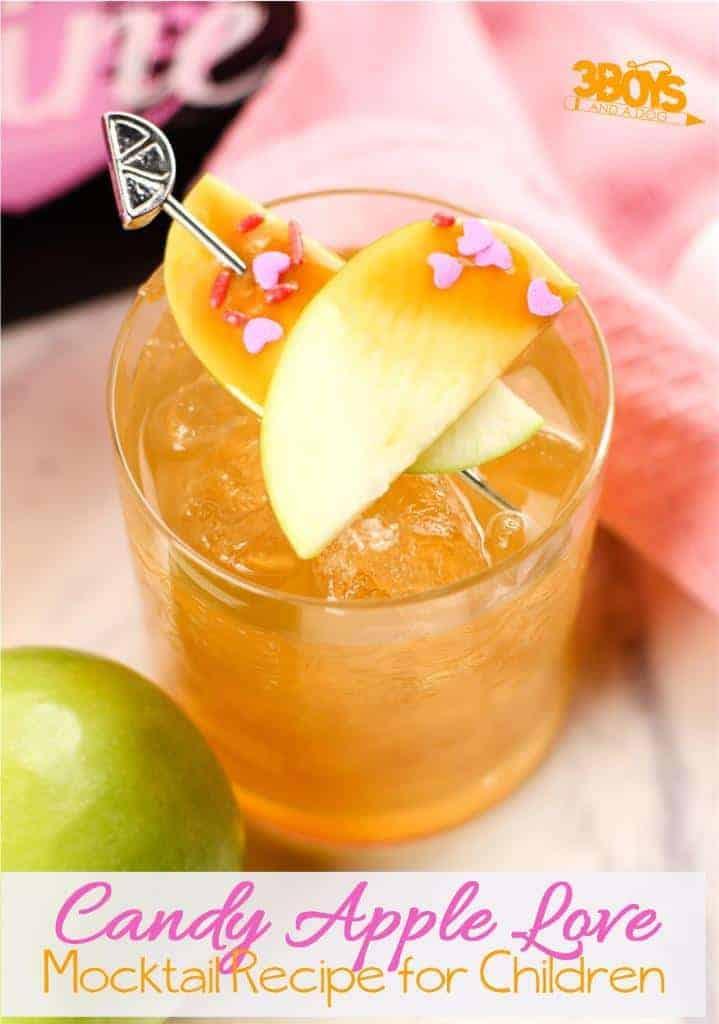 Candied Apple Mocktails for Kids