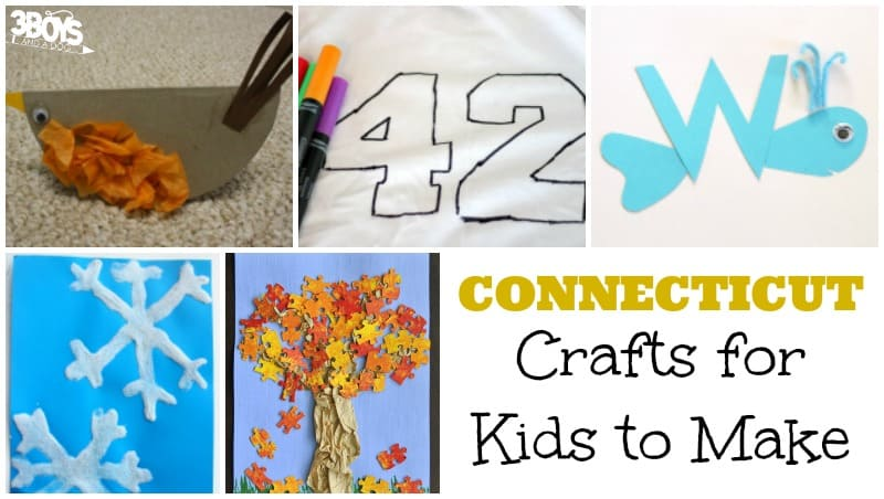Connecticut Crafts for Kids to Make