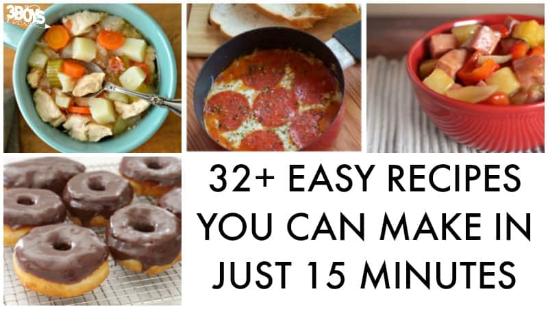 Easy 15-Minute Recipes