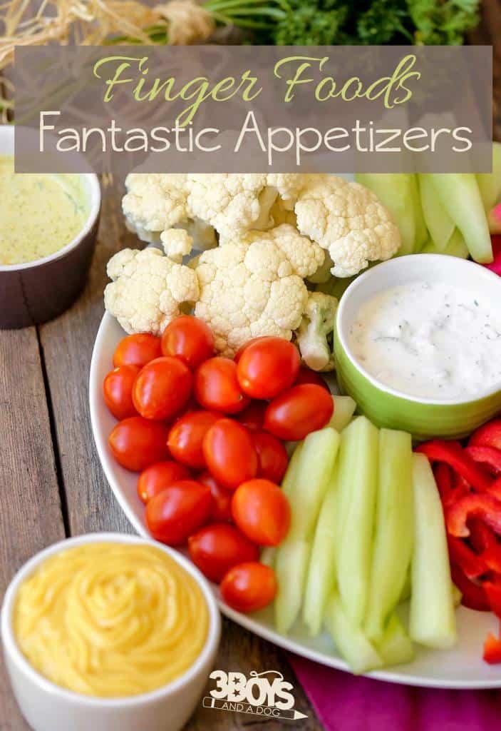 Fantastic Finger Foods Appetizer Recipes