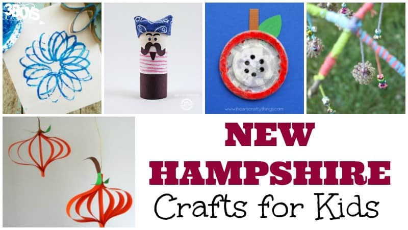 Fun New Hampshire Crafts for Kids