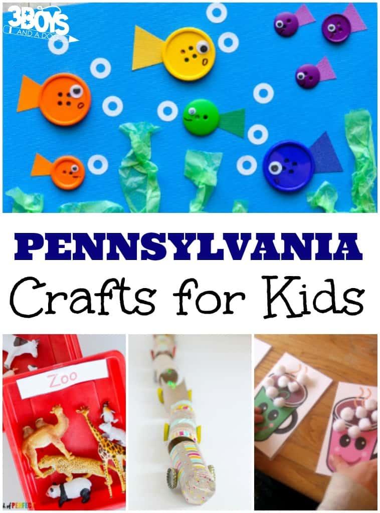 Fun Pennsylvania Crafts for Kids