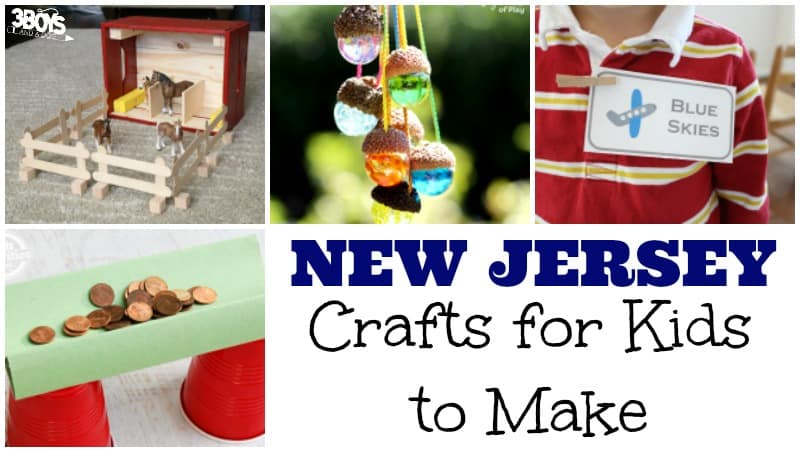 Kids Crafts about New Jersey
