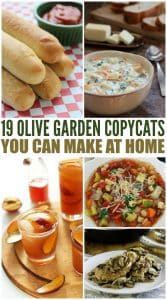 19 Olive Garden Copycats You Can Make At Home