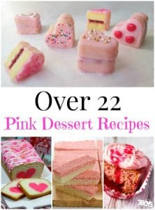 Over 22 Pink Dessert Recipes