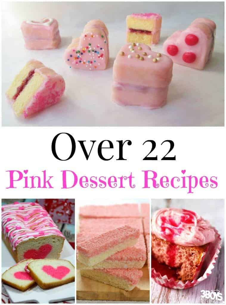 Over 22 Pink Dessert Recipes