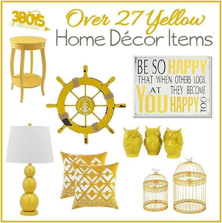 Over 27 Yellow Primrose Accent Pieces for Home Decor