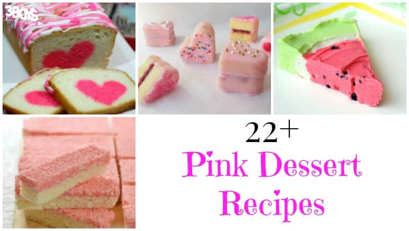 Pink Dessert Recipes
